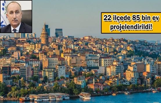 İstanbul'da kentsel dönüşüm tam gaz!