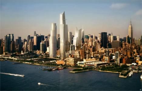 Hudson Yards ABD tarihinin en büyük emlak projesi hayata geçiriliyor!