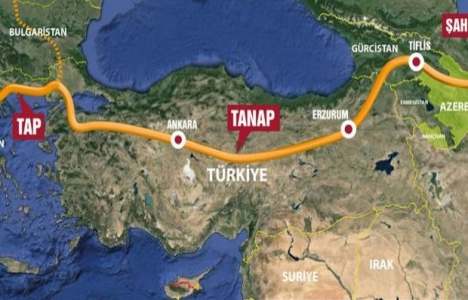 Türkiye Tanap'a yüzde