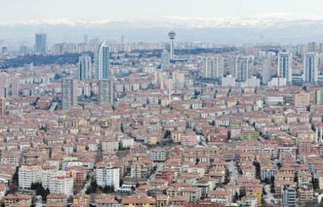 Konut satışında Başkent Ankara ikinci!