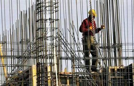 İnşaat sektöründe istihdam yüzde 1,8 azaldı!