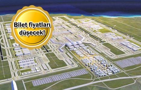 3. Havalimanı'nın son hali görüntülendi!