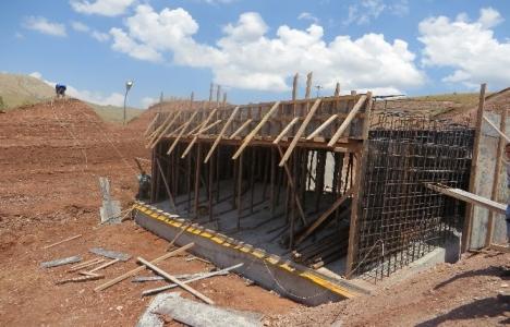 Erzincan Çadırkaya Göleti yüzde 79 tamamlandı!