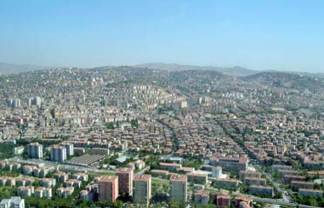 Ankara'da satılık arsa