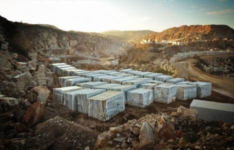 Marmara Adası'nda yılda 250 bin metreküp mermer üretiliyor!
