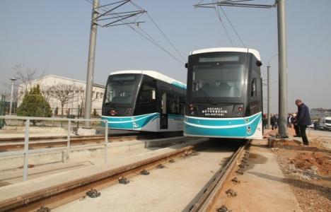 Kocaeli tramvay hattına