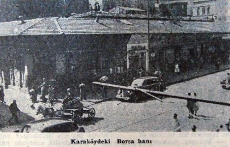 1948 yılında Borsa Hanı'nın bulunduğu ada tamamen yıktırılacak!