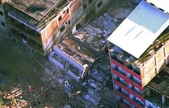 Brezilya'da çöken binada 2 kişi öldü!