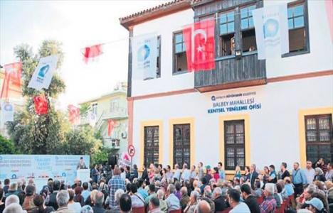 Antalya Balbey Mahallesi'nde