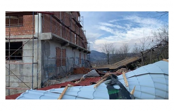 Ordu'daki fırtınada 51 konut, 32 okul ve 9 kamu binası hasar gördü!