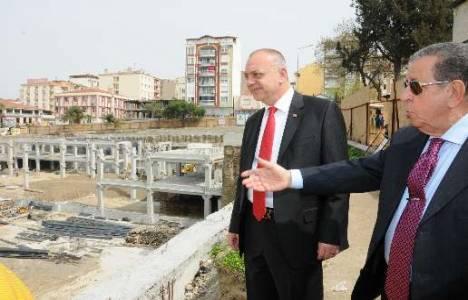 Manisa Emekliler Parkı Otoparkı inşaatı devam ediyor!