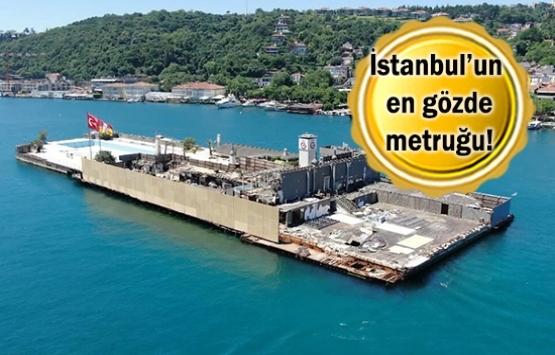Galatasaray Adası dev paravanlarla çevriliyor!