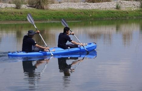 Ceyhan Nehri'nde kano keyfi turizmi canlandırıyor!
