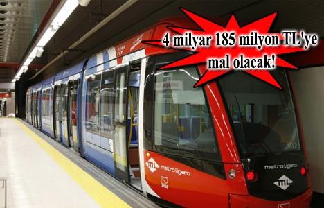 Kirazlı-Halkalı metro hattının