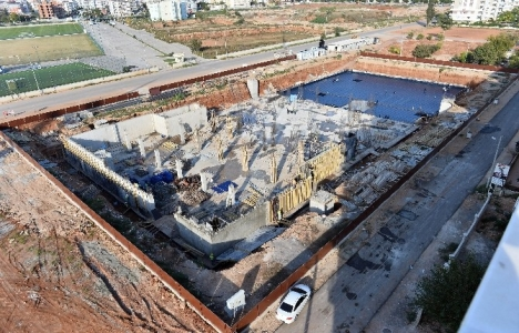 Muratpaşa Sivil Toplum Merkezi inşaatı devam ediyor!