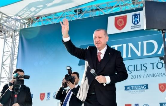 Ankara Altındağ'daki 112 yatırım açıldı!