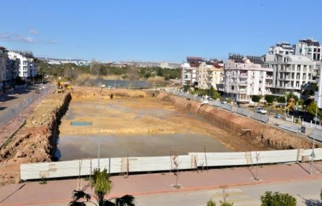 Konyaaltı Kongre ve Fuar Merkezi'nin inşaat çalışmaları başladı!
