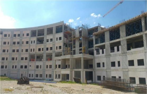 Mamak Devlet Hastanesi'nin inşaatı durdu mu?
