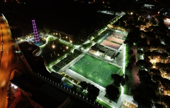 Manisa Sümerpark Bülent Yelkenci Spor Kompleksi açıldı!