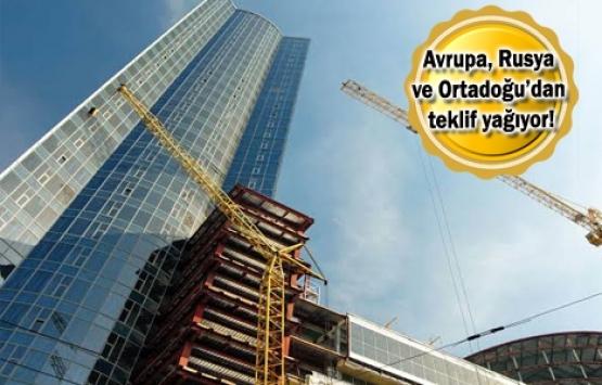 Dev projeler Türk müteahhitlere emanet!