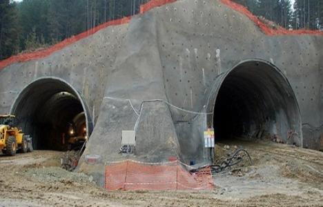 Ilgaz Dağı Tüneli'nin yüzde 60'ı tamamlandı!