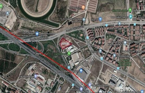 Ankara Yenimahalle'de 8.6 milyon TL'ye icradan satılık arsa!