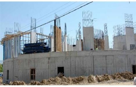 Simav Devlet Hastanesi'nin inşaatı devam ediyor!