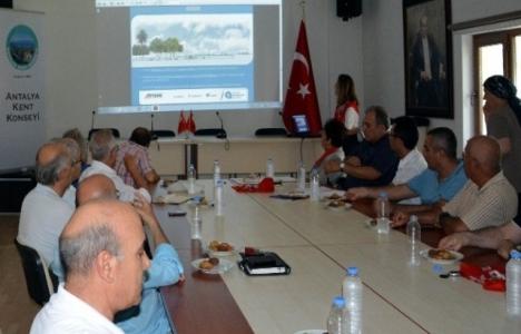 Antalya Kent Konseyi'nden kentsel dönüşüme 16 öneri!