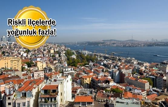 İstanbul'da 2.5 milyon konutta bulunuyor!