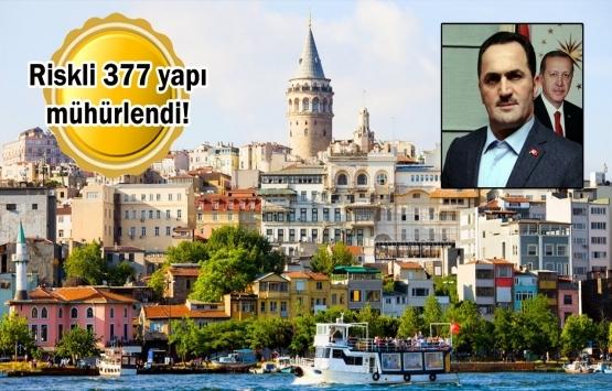 Beyoğlu'nda 'yerinde ve deprem esaslı dönüşüm' başladı!
