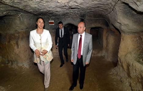 Kapadokya'ya bir yeraltı şehri daha kazandırıldı!