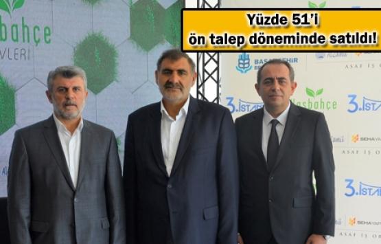 3. İstanbul Başakşehir Hasbahçe Evleri satışta! 841 bin TL'ye!