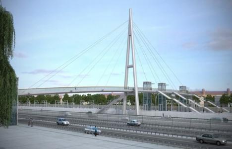 Gebze'ye yaya köprüsü inşa edilecek!
