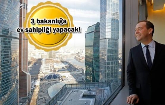 Rusya'da üç bakanlık Ant Yapı'nın inşa ettiği gökdelene taşınıyor!