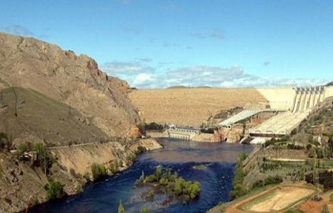 Atatürk Barajı'nda doluluk