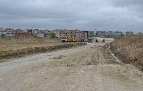 Kapaklı-Saray Çevreyolu'nun 2014 sonunda hizmete açılması hedefleniyor!