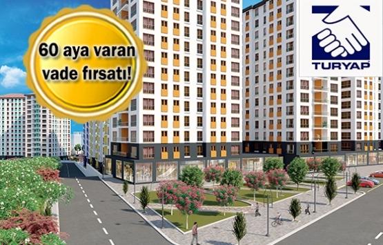 Turyap Şehr-i Bağcılar'daki 1201 daire ve 22 ticari alanı satıyor!