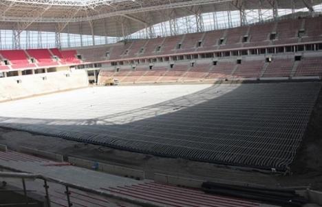 Samsun 19 Mayıs Stadyumu'nun yüzde 83'ü tamamlandı!