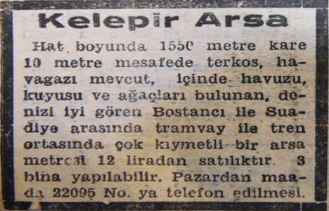 1949 yılında Bostancı'da