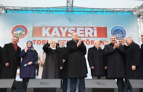 Kayseri'de 587 milyon