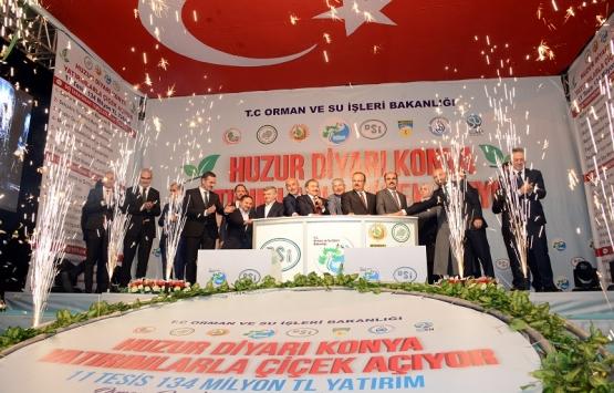Konya'daki 8 tesisin