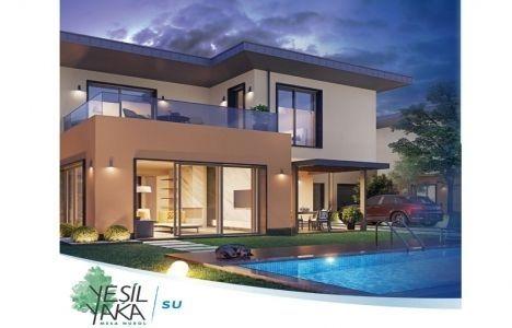 Yeşilyaka Su Villaları'nda yüzde 1 KDV fırsatı!