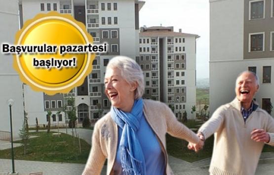 TOKİ 50 bin konut projesinde sıra emeklilerde!