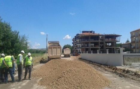Karesi'de TOKİ Ve Paşaalanı asfaltlanıyor!