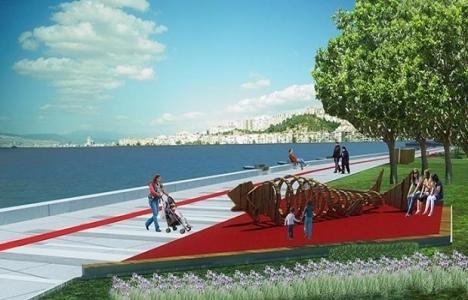 İzmir Pasaport-Göztepe İskele arasındaki sahil şeridi düzenlendi!