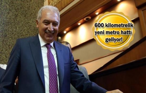 Metro projelerinde iptal yok hızlanma var!