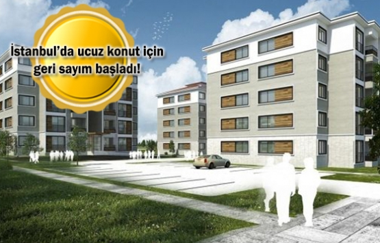 TOKİ Silivri 1.356 konut başvuruları 7 gün sonra başlıyor!