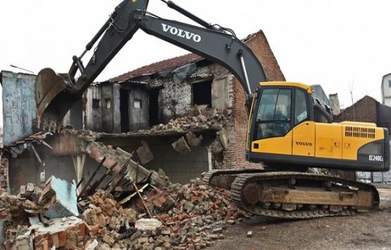Bursa Osmangazi'deki kaçak binalar yıkıldı!