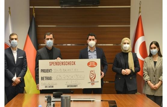 Almanya'da Türk gençleri İdlib'de 90 konut yapımı için yardım topladı!