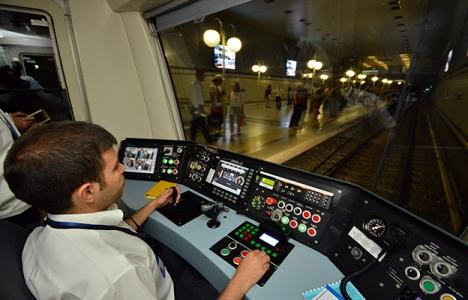 İzmir Metrosu'nda test